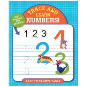 Trace & Learn Book, Numbers