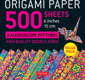 "Origami Paper 500 sheets Kaleidoscope Patterns 6"" (15 cm): Tuttle Origami Paper: High-Quality Double-Sided Origami Sheets Printed with 12 Different Designs (Instructions for 6 Projects Included)"