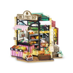 DIY Miniature Kit: Fruit Shop