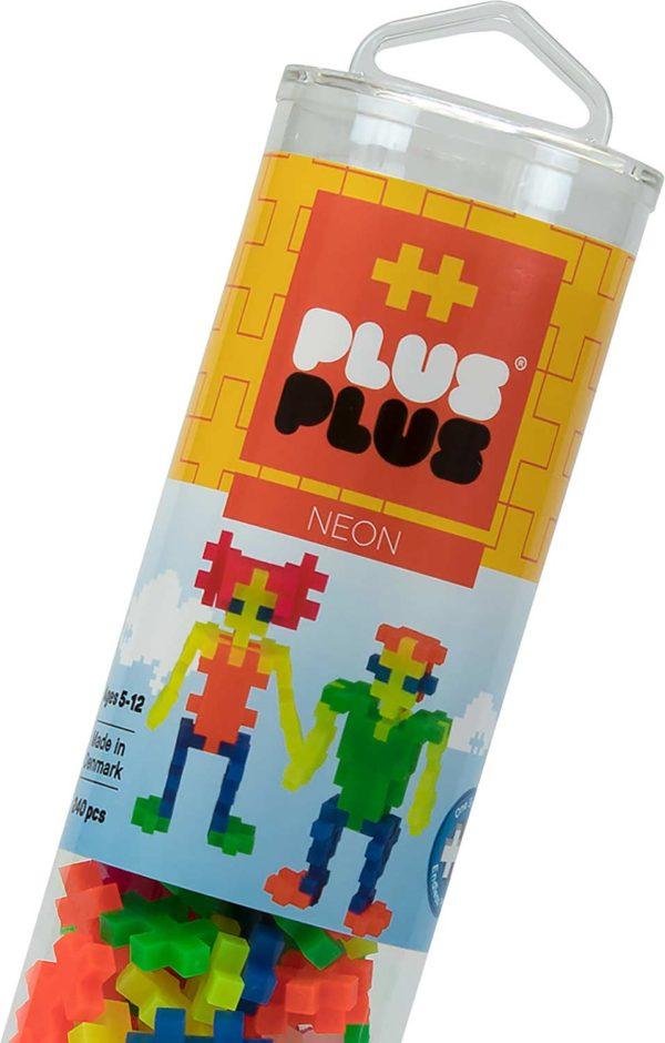 Plus-Plus Tube - 240 pc Neon