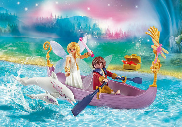 Romantic Fairy Boat