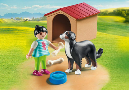 Dog With Doghouse