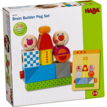 Brain Builder Peg Set