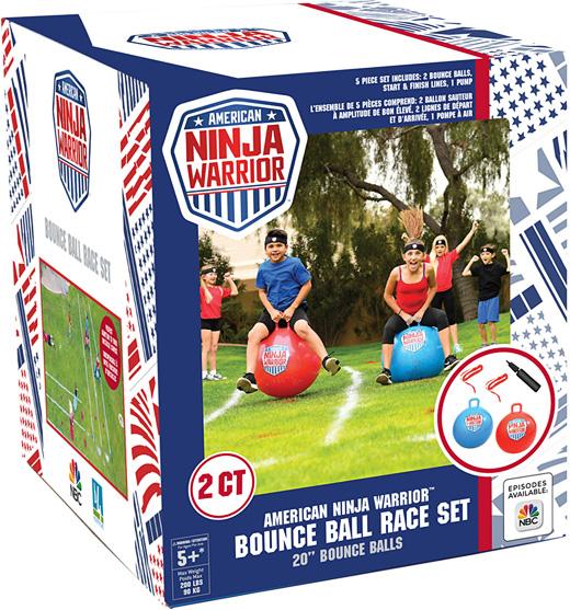 American Ninja Warrior™ Bounce Ball Race Set