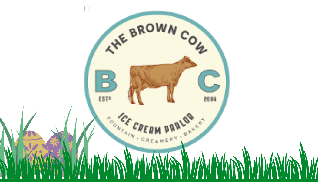 Brown Cow Ice Cream Gift Card Eggs