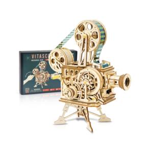 DIY Wooden Puzzle: Vitascope (Film Player)