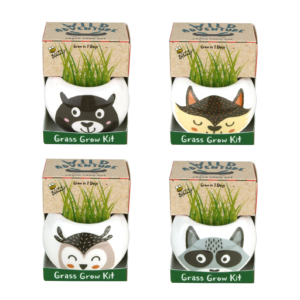 Wild Adventure Ceramic Grass Growing Kit