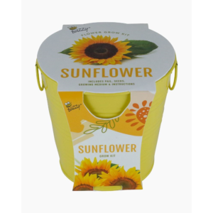 Painted Flower Grow Pail