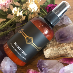 Body and Room Mist: Permission (4oz)