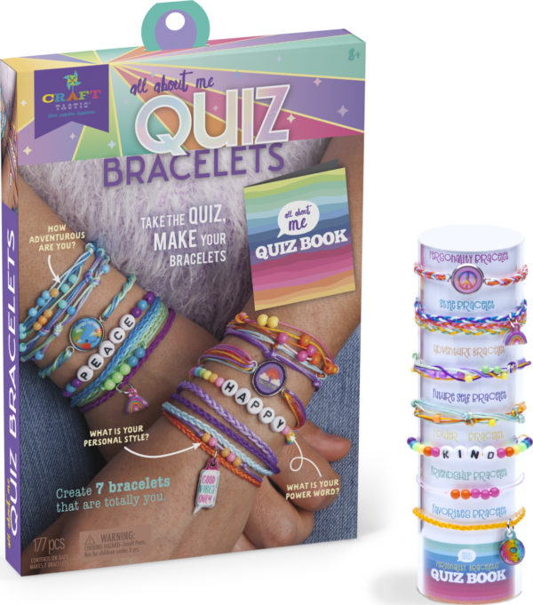 Craft-Tastic All About Me Quiz Bracelets