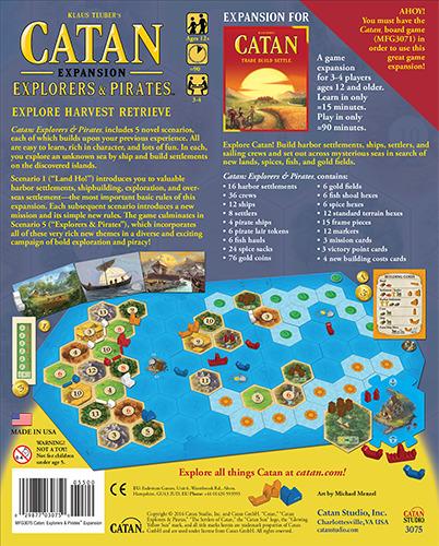 Catan: Explorers & Pirates Game Expansion