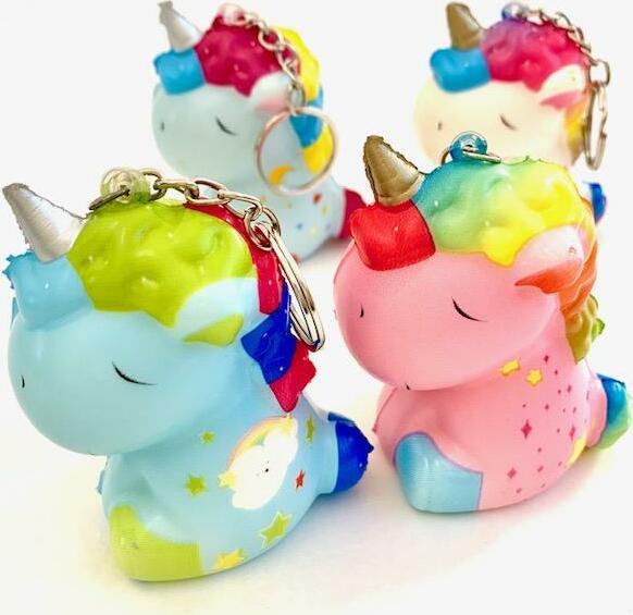 Unicorn Squishy Charm-12