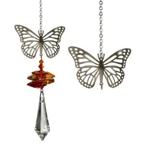 Crystal Fantasy Butterfly Suncatcher