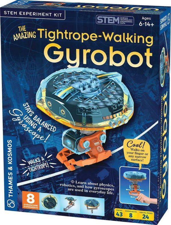 The Amazing Tightrope-walking Gyrobot