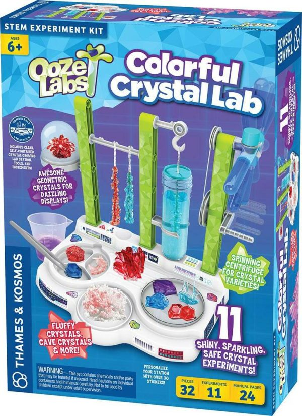Ooze Labs: Colorful Crystal Lab
