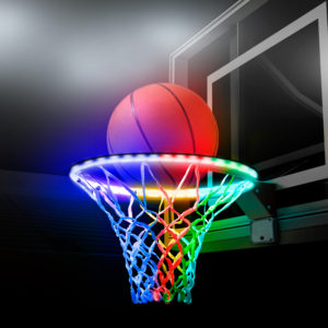 Hoopbrightz Color Morphing Led Basketball Hoop Light