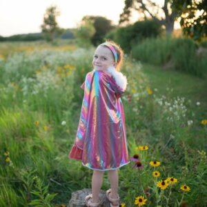 Rainbow Princess Cape Great Pretenders USA
