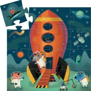 Djeco Rocket 16Pc Jigsaw Puzzle
