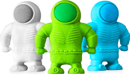 Astronaut Erasers