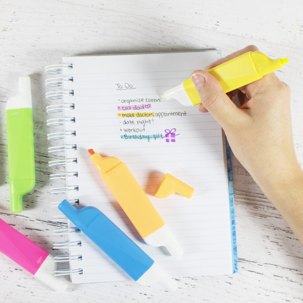 Doovers Erasable Highlighters