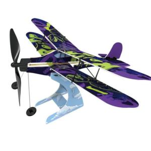 Rubberband Aeroplane Science: Biplane