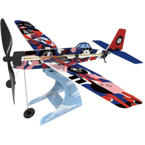 Rubberband Aeroplane Science: Low Wing