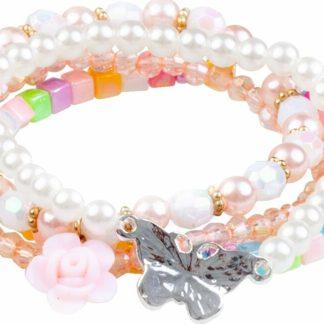 Pearly Butterfly Bracelets