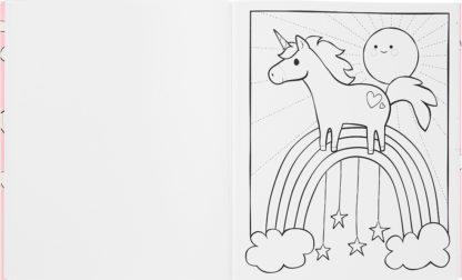 Color In Book Unicorns