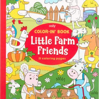 Color In Book Farm Friends
