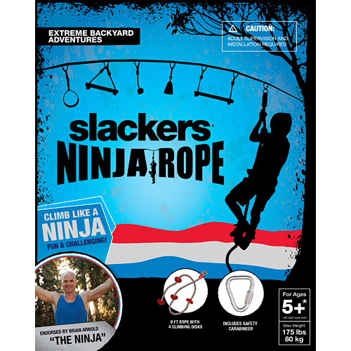 Slackers Ninja Climbing Rope