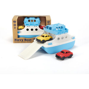 Ferry Boat with Mini Cars