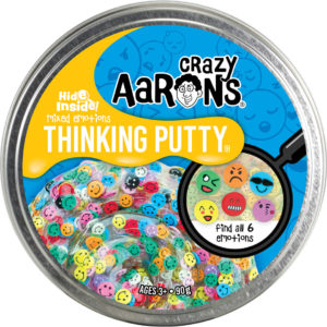 Crazy Aaron's Hide Inside! Mixed Emotions Thinking Putty