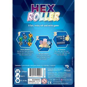 hex roller back